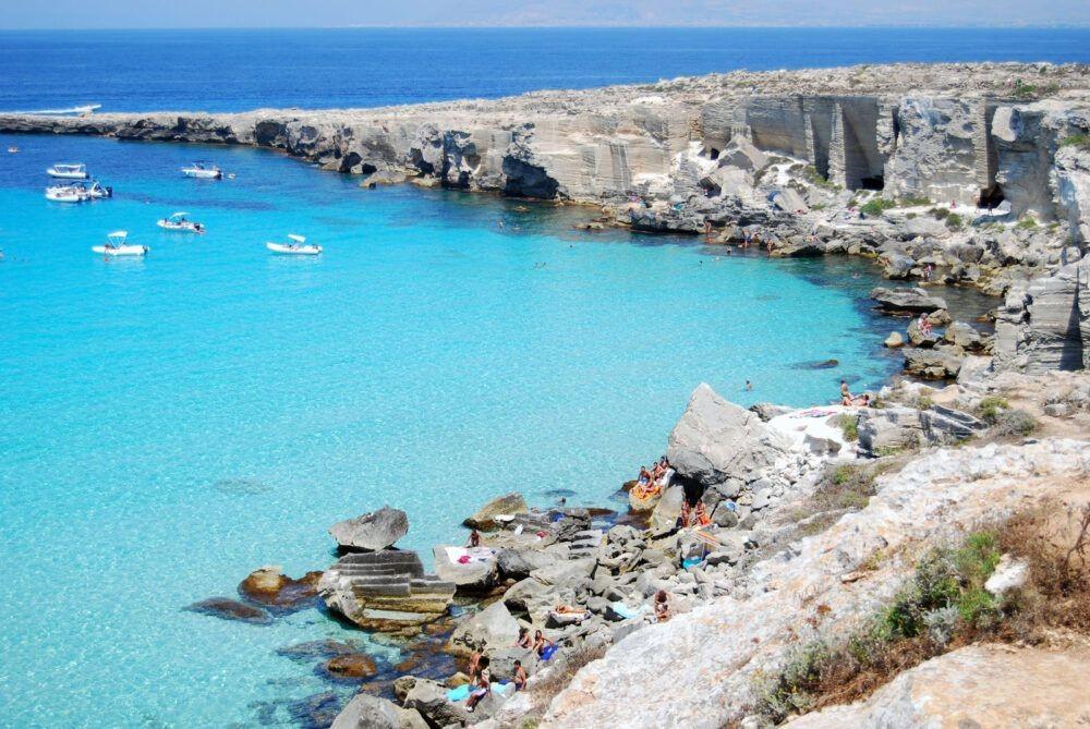 Cala Rossa, Favignana, Sicily
