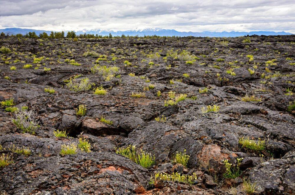 Cráteres del Monumento Nacional de la Luna