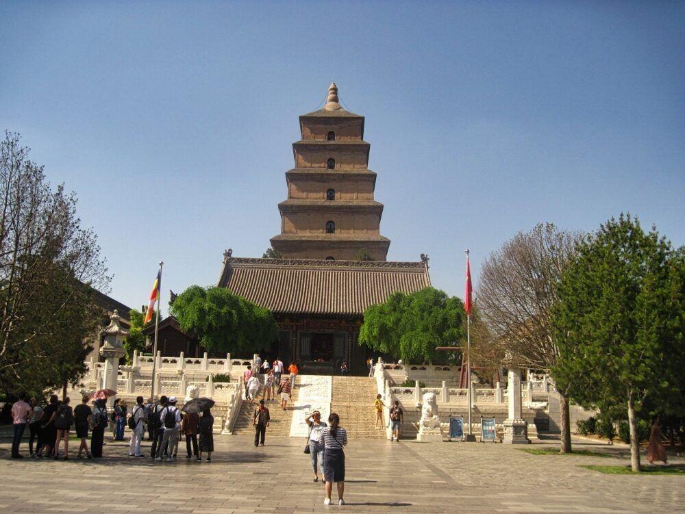 Grande Ganso Selvagem Pagoda