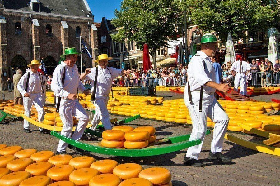 Mercado del queso de Alkmaar