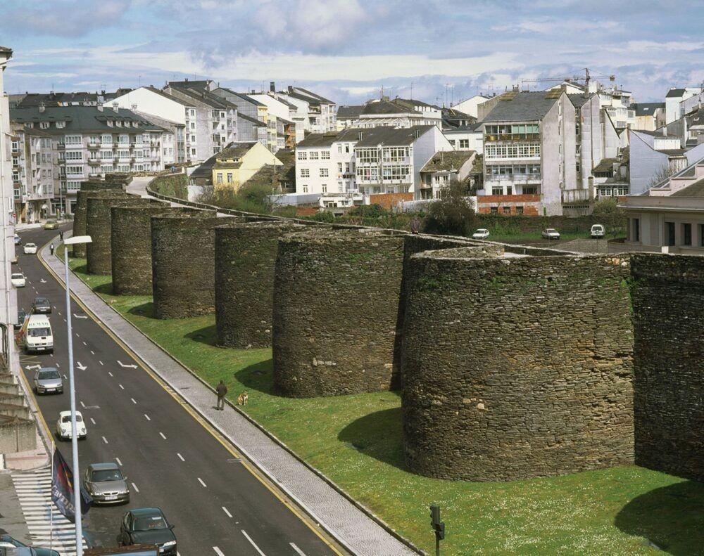 Murallas de la ciudad de Lugo