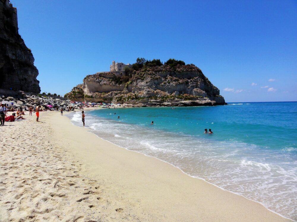 Playa Marasusa, Tropea, Calabria