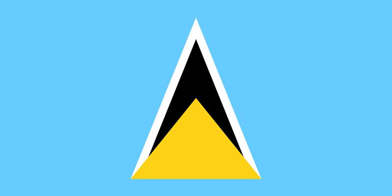 Bandera de Santa Lucía 1