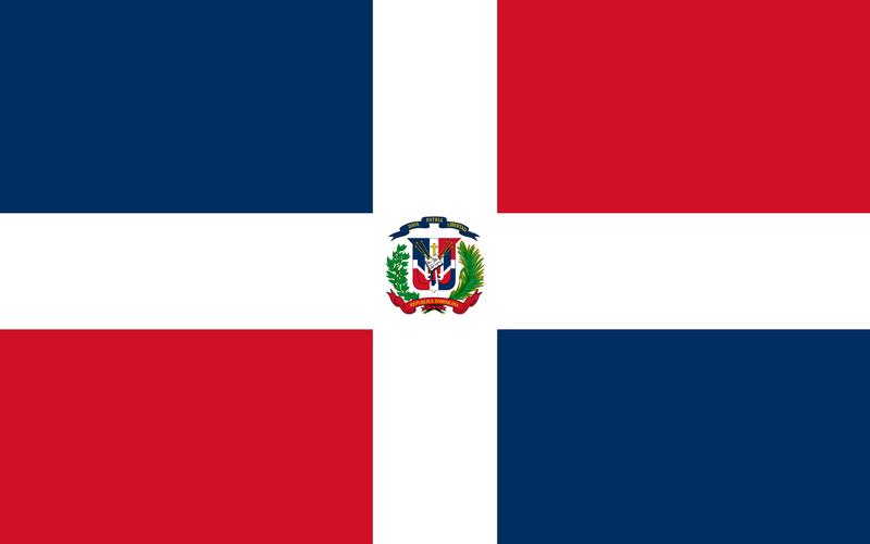 Bandera de la República Dominicana 2