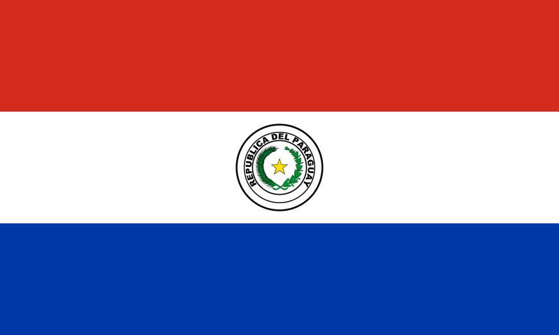 Bandera del Paraguay