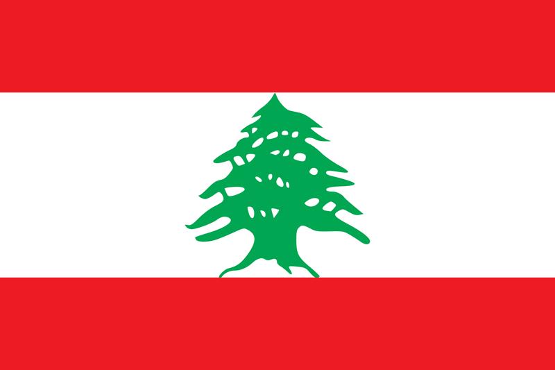 Bandera del Líbano 2