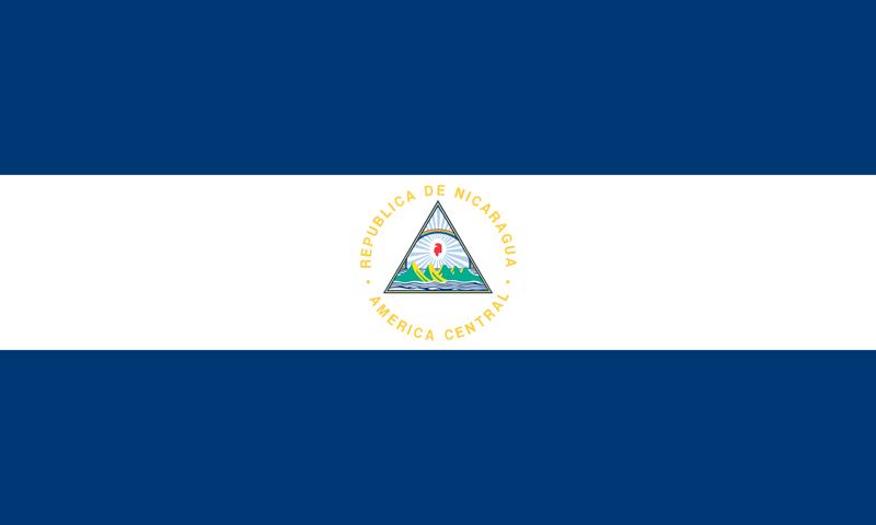 Bandera de Nicaragua 1