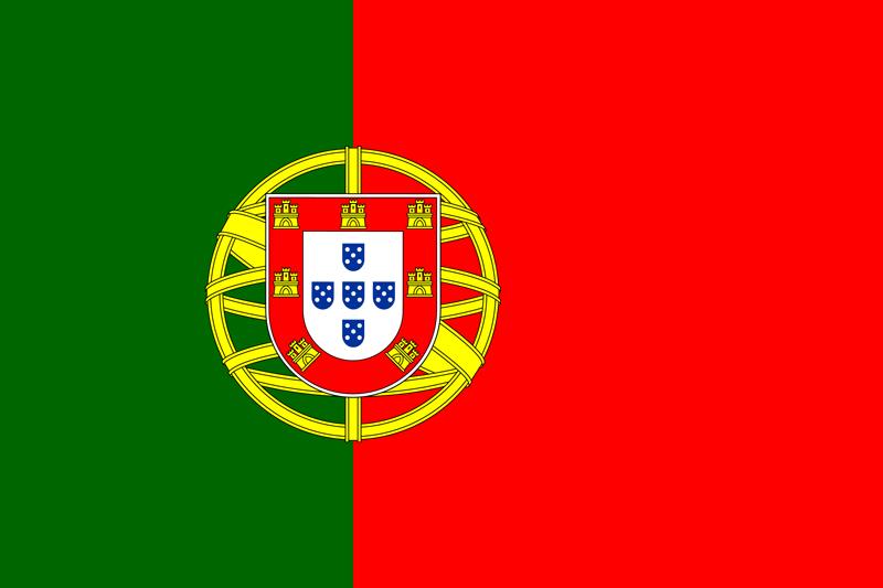 Bandera de Portugal 1