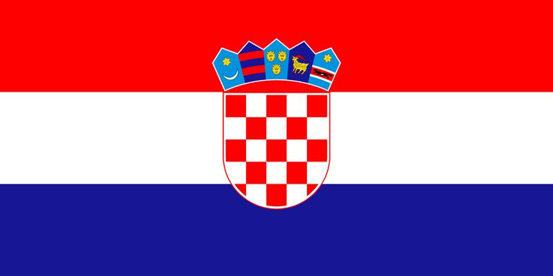 Bandera de Croacia 1