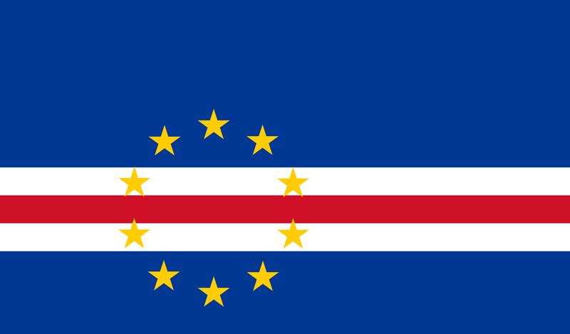 Bandera de Cabo Verde 2