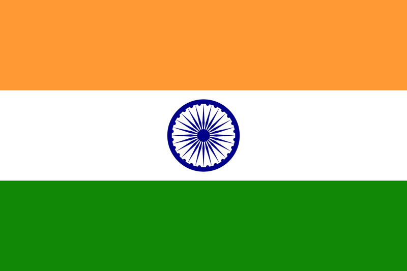 Bandera de la India 2