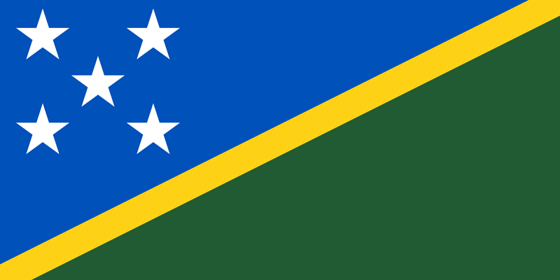 Bandera de las Islas Salomón 1