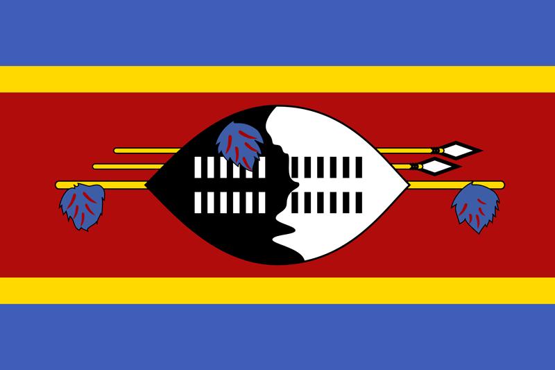 Bandera de Swazilandia 1