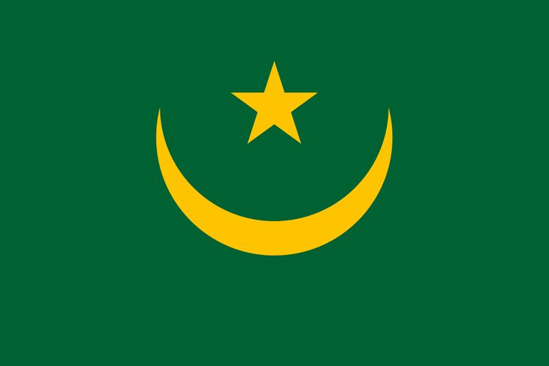 Bandera de Mauritania 2
