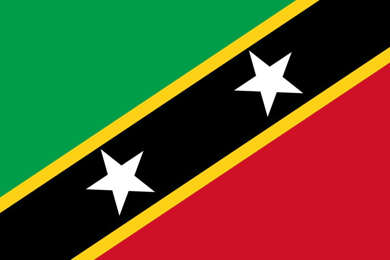 Bandera de San Cristóbal y Nieves 2