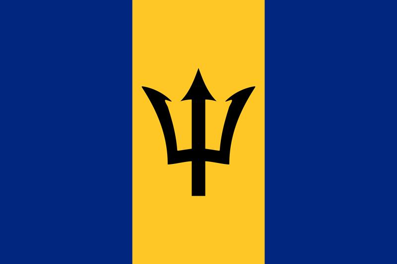 Bandera de Barbados 1