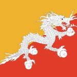 Bandera de Bhután