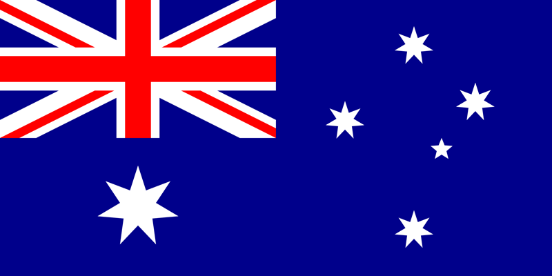 Bandera de Australia 2