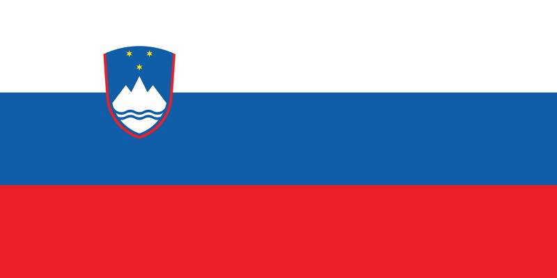 Bandera de Eslovenia 1