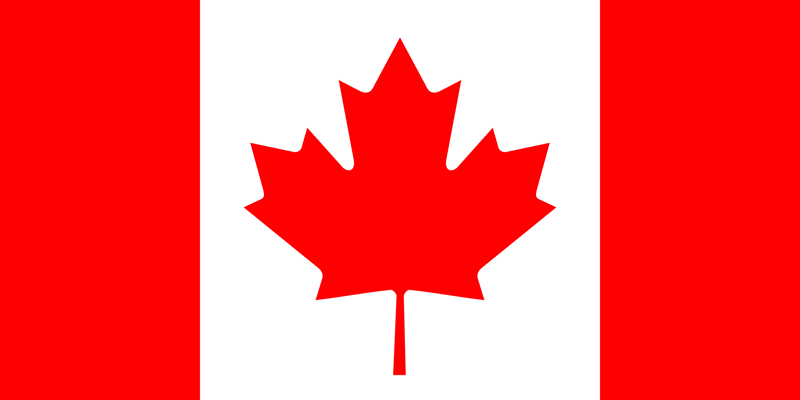 Bandera de Canadá 1