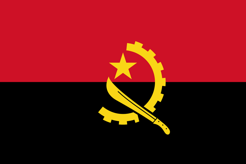 Bandera de Angola 2