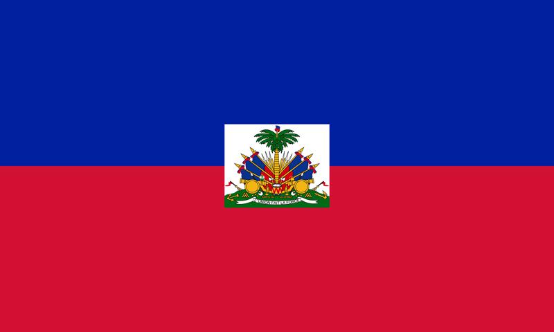 Bandera de Haití 1
