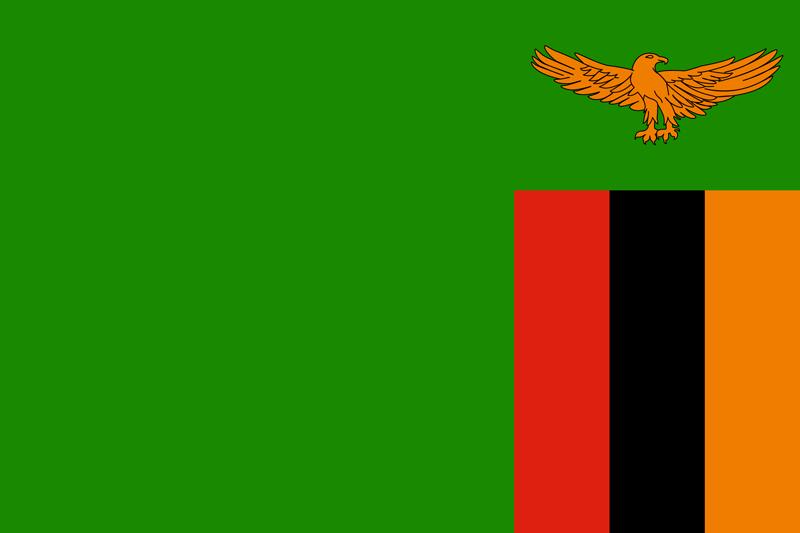 Bandera de Zambia 1