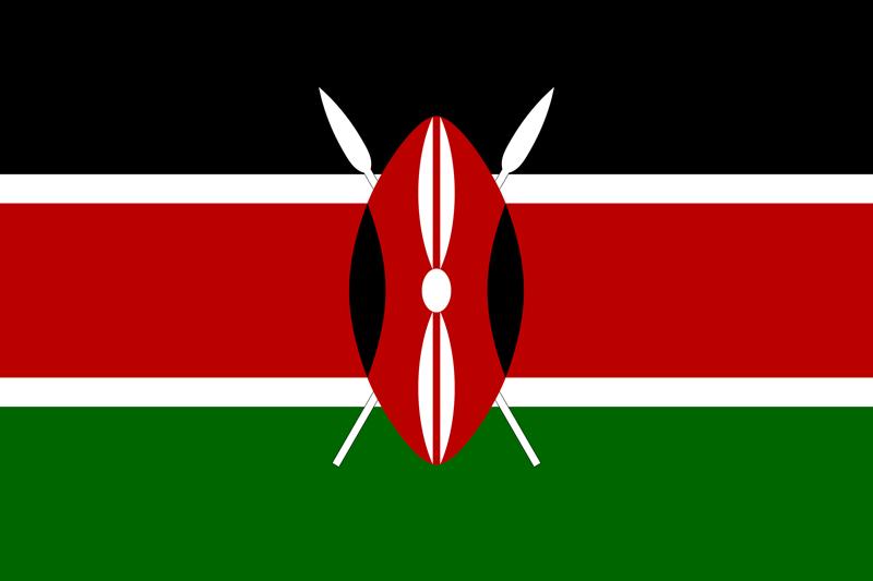 Bandera de Kenya
