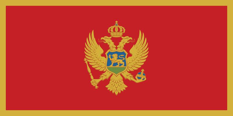 Bandera de Montenegro 1