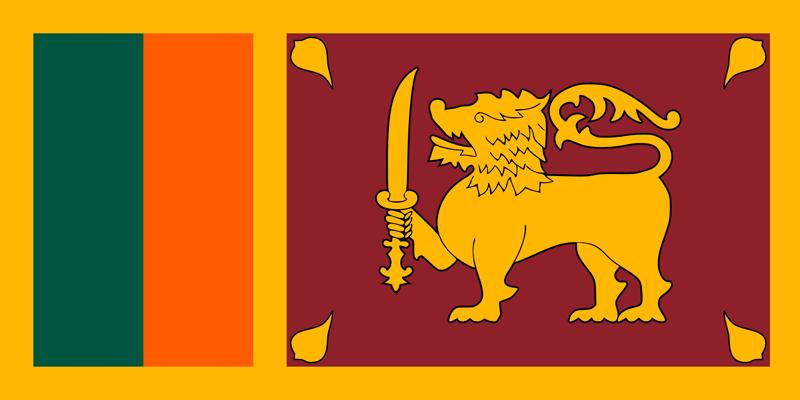 Bandera de Sri Lanka 1
