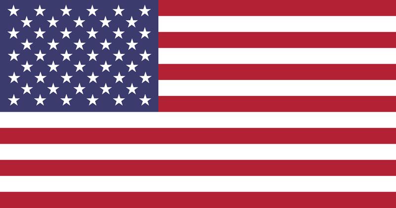 Bandera de los Estados Unidos  de América – EE.UU. 2