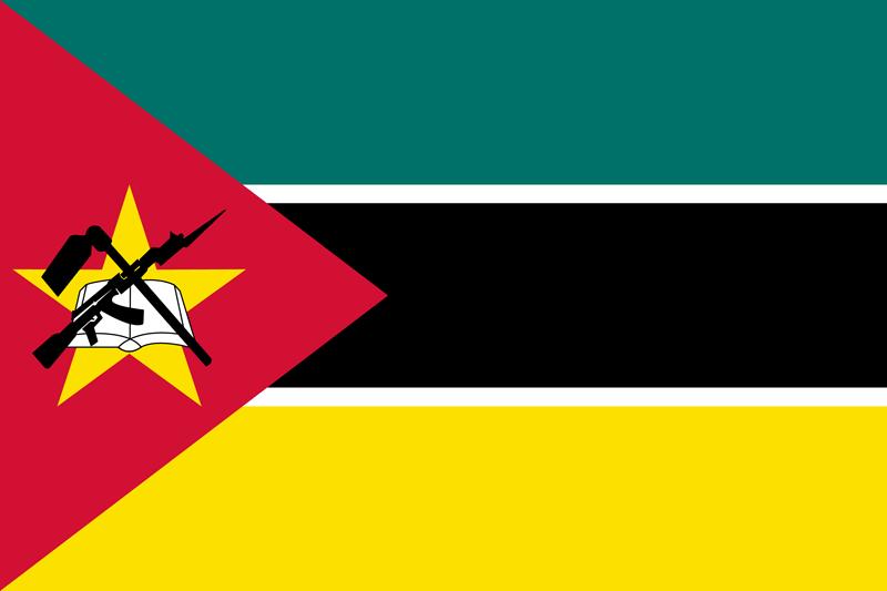 Bandera de Mozambique 2