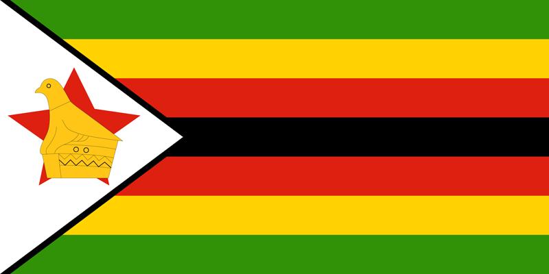 Bandera de Zimbabwe 1