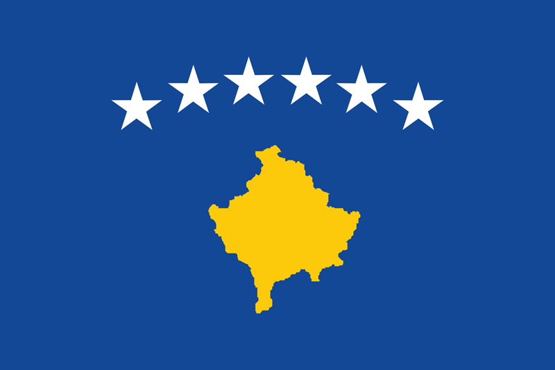 Bandera de Kosovo 2