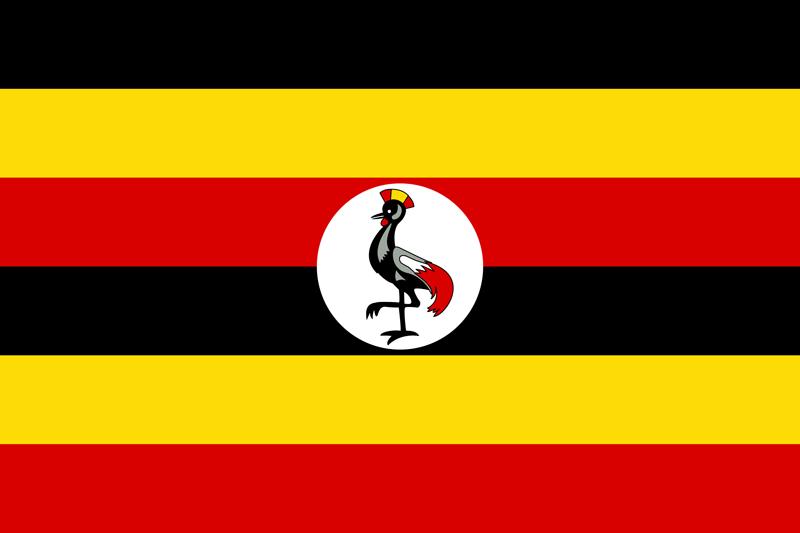 Bandera de Uganda 2