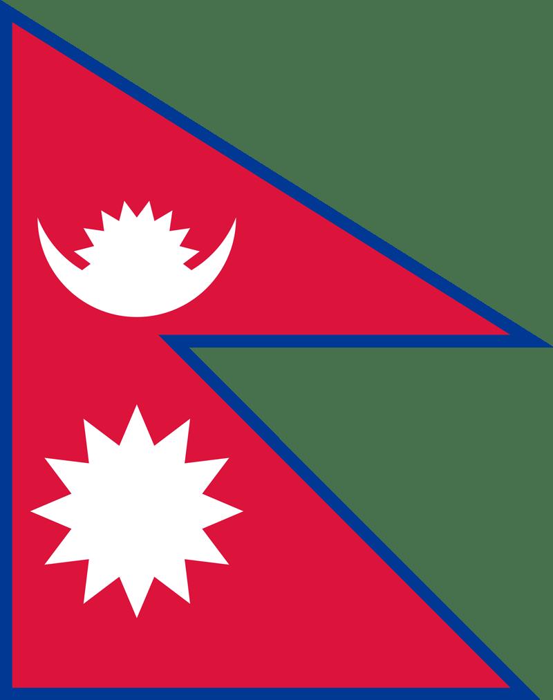 Bandera de Nepal 2