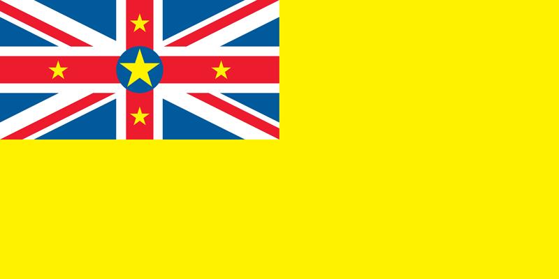 Bandera de Niue 2