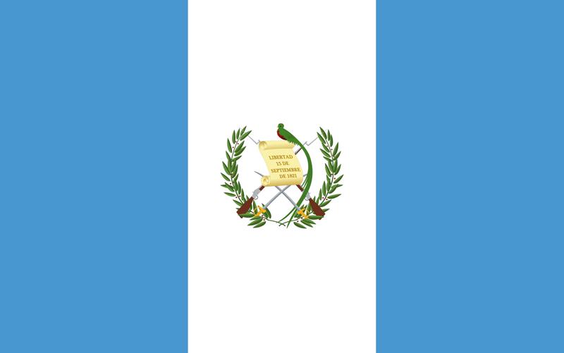 Bandera de Guatemala 1