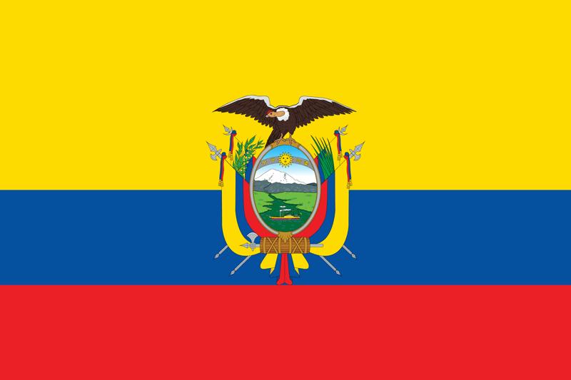 Bandera de Ecuador 2
