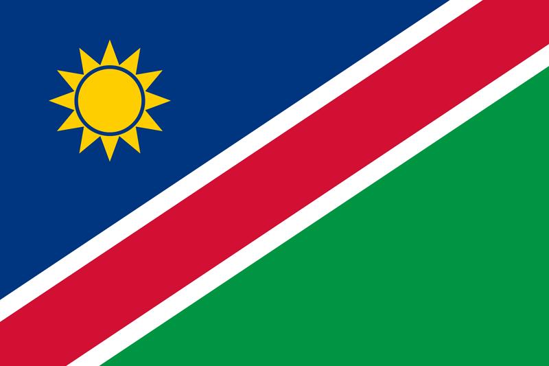 Bandera de Namibia 1