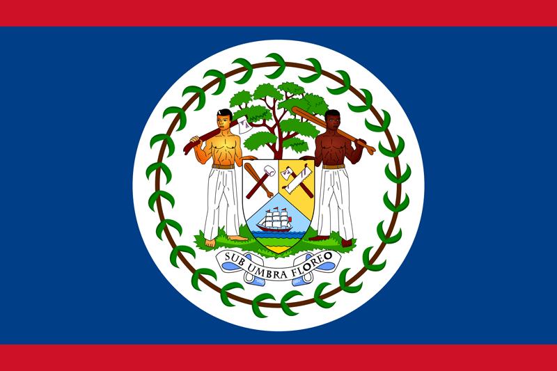 Bandera de Belice 1