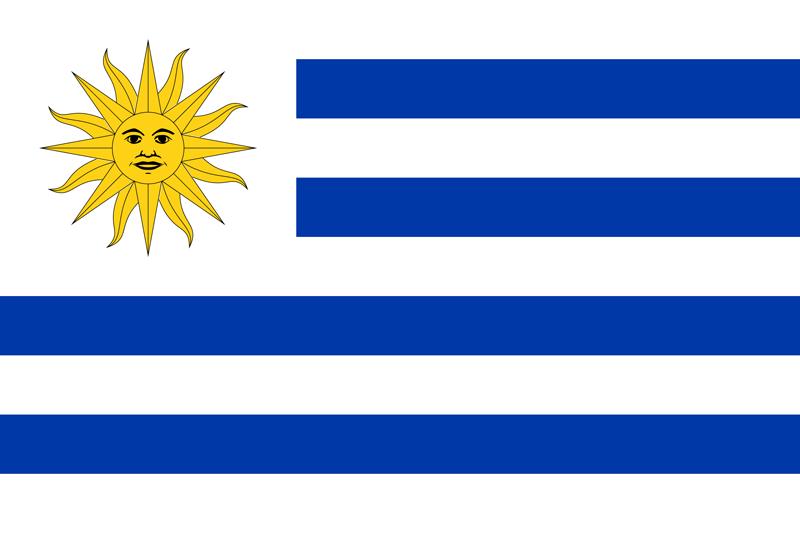 Bandera de Uruguay 1