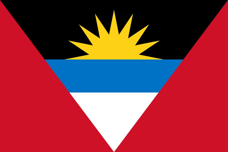 Bandera de Antigua y Barbuda 2