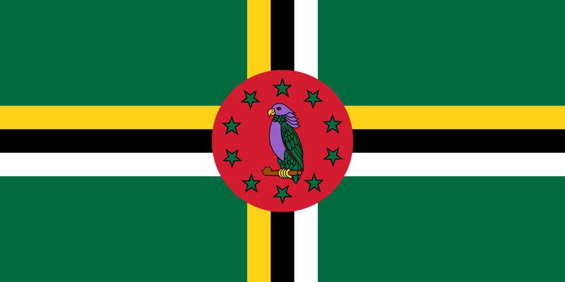 Bandera de Dominica 1
