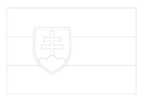 Bandera de Eslovaquia 4