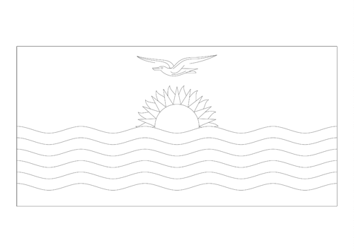 Bandera de Kiribati 2