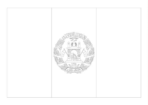 Bandera del Afganistán 4