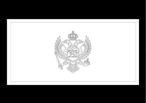 Bandera de Montenegro 2