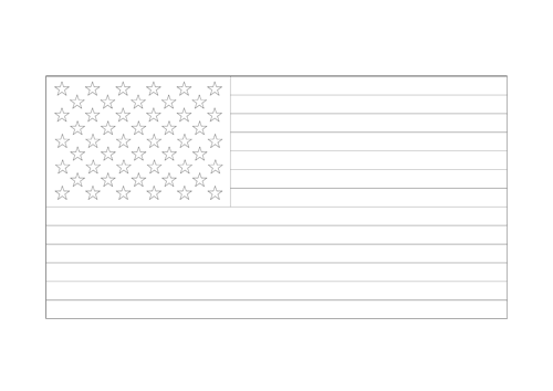 Bandera de los Estados Unidos  de América – EE.UU. 4