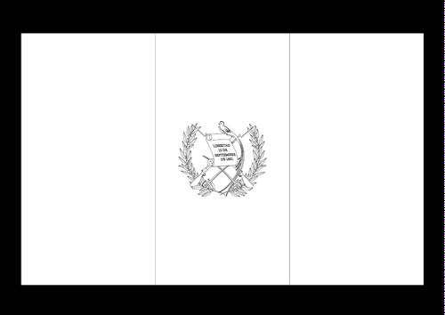 Bandera de Guatemala 2